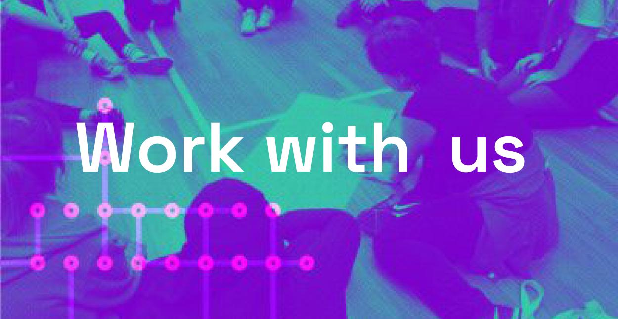 We're recruiting: TBDS Show Operator & Creative Workshop Technician